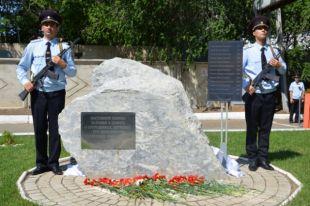 ВОренбурге открыли памятник погибшим полицейским