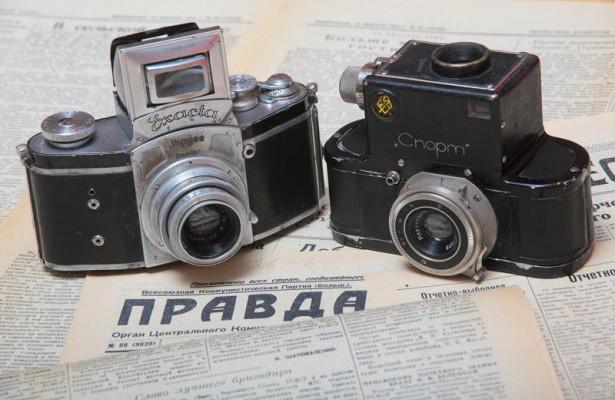 Раритетный фотоаппарат, картонное чудо начала прошлого века, обрел вторую жизнь