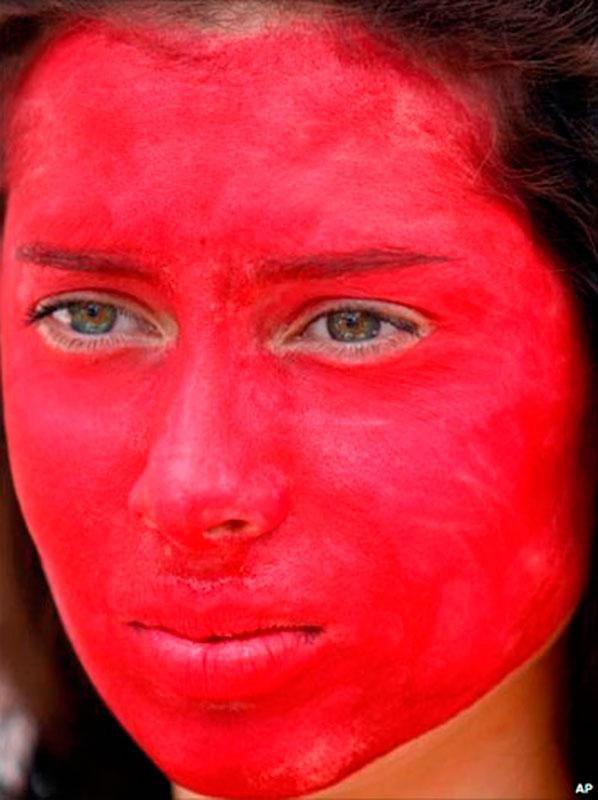 Как убрать красный цвет лица после запоя