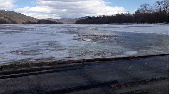 ВХабаровском крае начали закрывать ледовые переправы