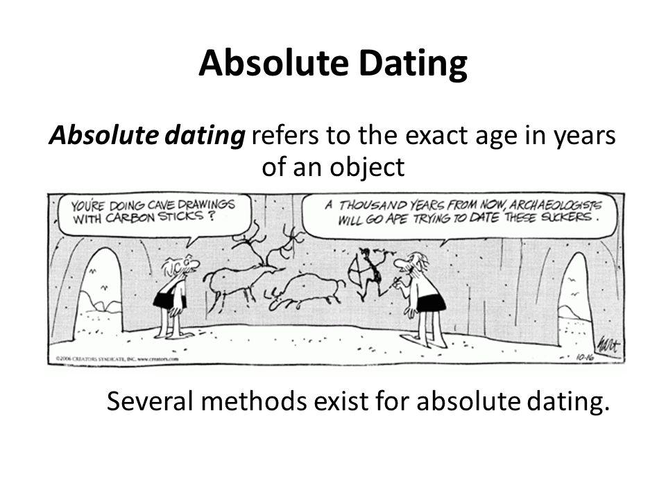 DATING METHODS IN ARCHAEOLOGY - OoCities