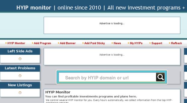 Best hyip monitor online quizlet