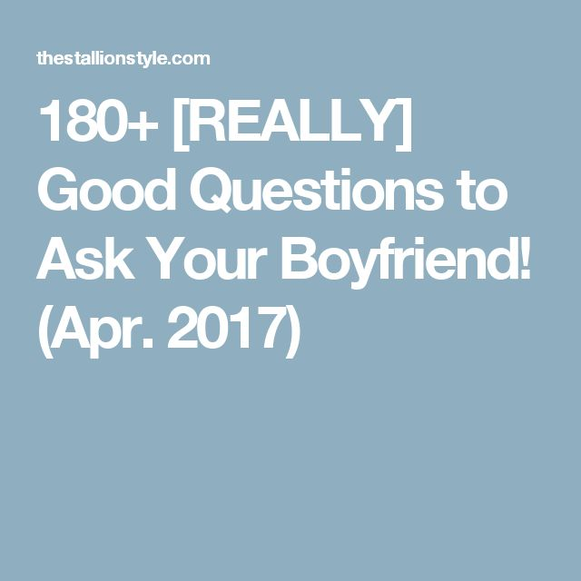 Fun questions to ask for online dating