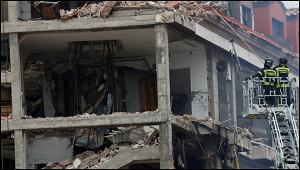 Число жертв взрыва вдоме вМадриде возросло до4
