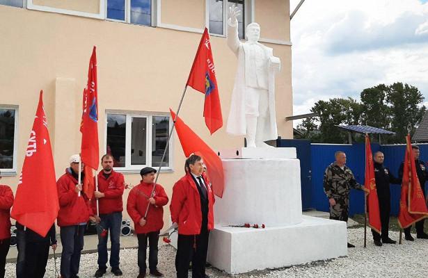 Жители Кусы выступают заперенос памятника Сталину вцентр города