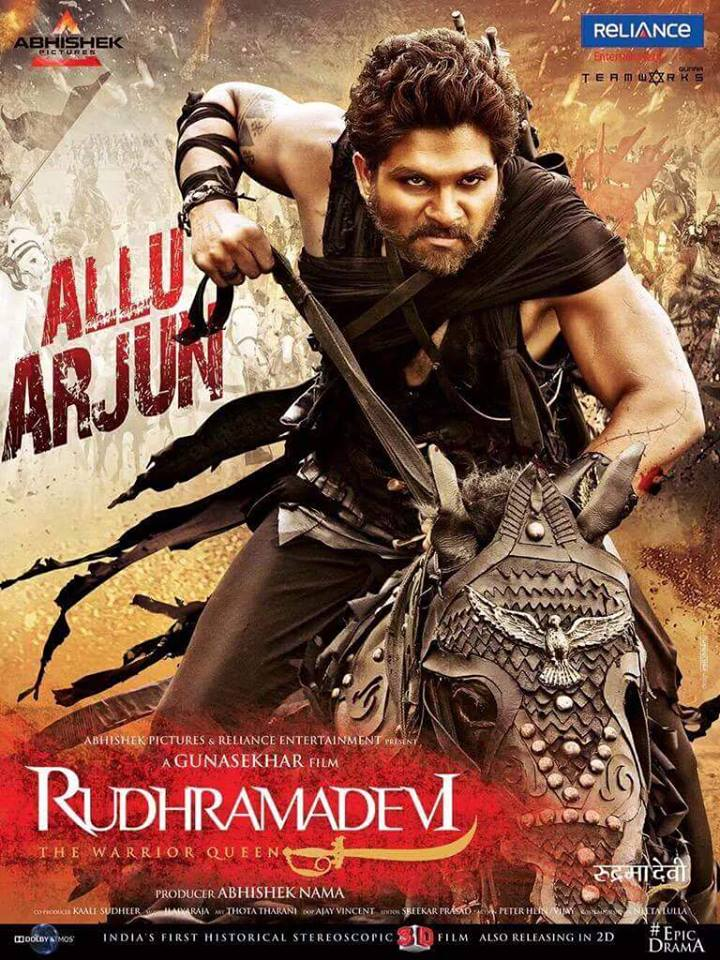 Watch Rudhramadevi (2015) Hindi Dubbed Online