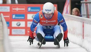 Саночник Павличенко выиграл золотую медаль вспринте вИнсбруке