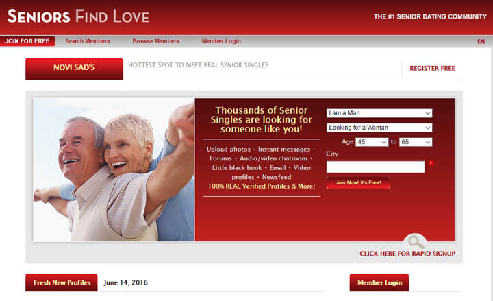 Free senior dating sites reviews