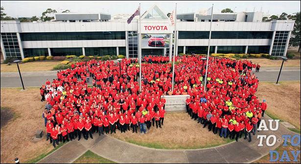 Завод Toyota вПетербурге завосемь месяцев выпустил 44,5тыс. машин