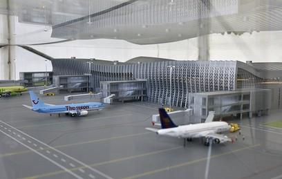 Новый терминал ваэропорту Симферополя заработает через полтора года