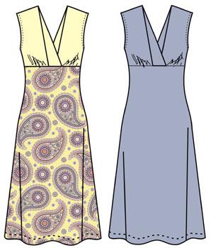 Шьем платья размер 48
