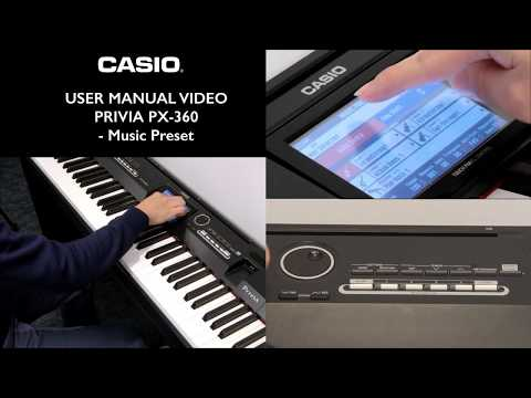 Casio px 360 user manual