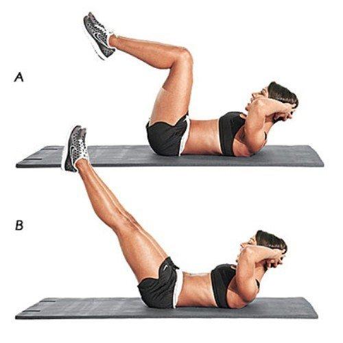 Как похудеть в спине и руках быстро