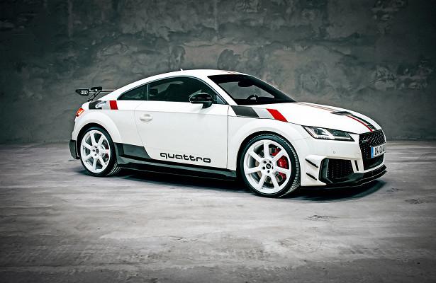 Audi отметила 40-летие quattro спецверсией TTRS