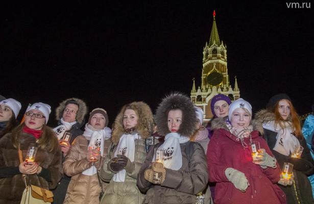 Около 2тысяч московских зданий отключили подсветку начас