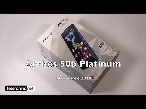 Bedienungsanleitung archos 50b platinum