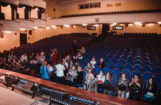 Мастер-класс потифлокомментированию прошел вГубернском театре наВолгоградке