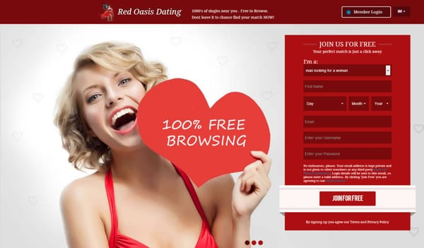 Red oasis dating review