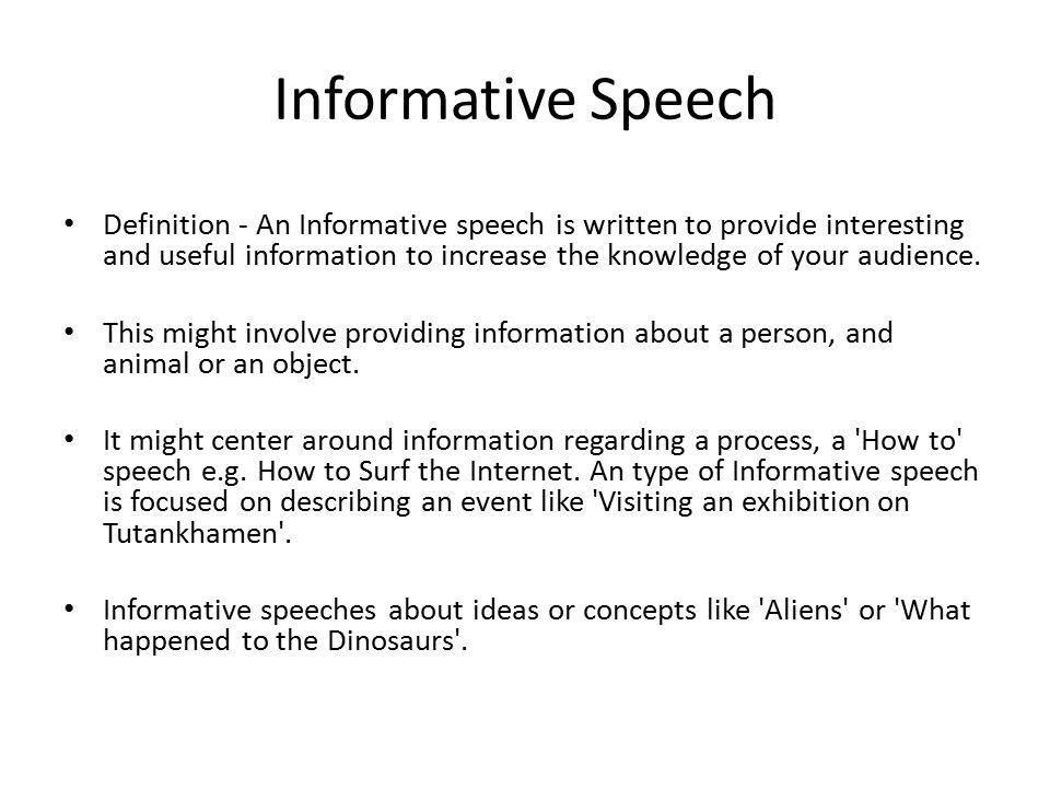 Informative Speech Topics on Nutrition - LEAFtv