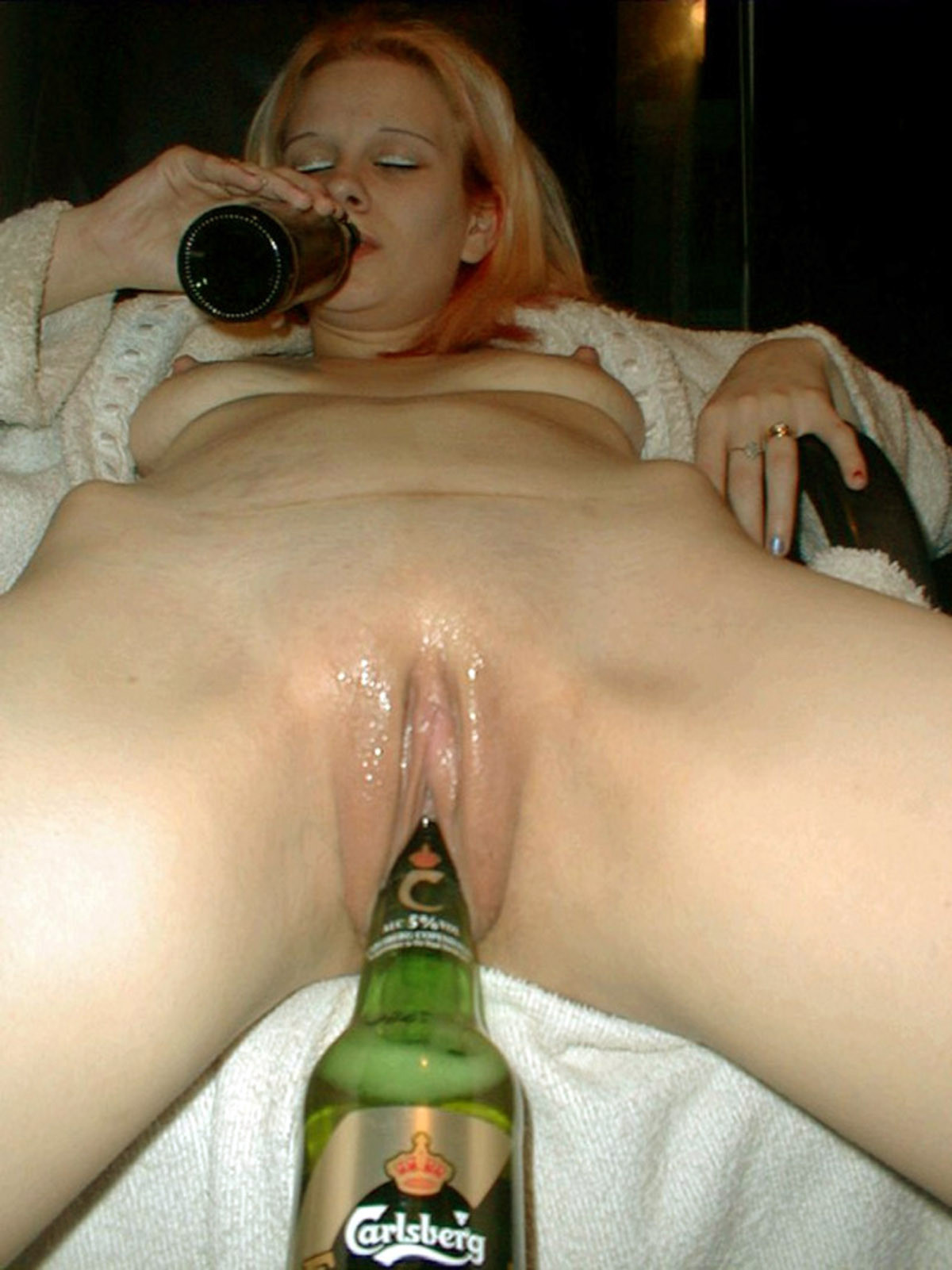 Pussy and video and beer bottle, nude pictures of bbbw