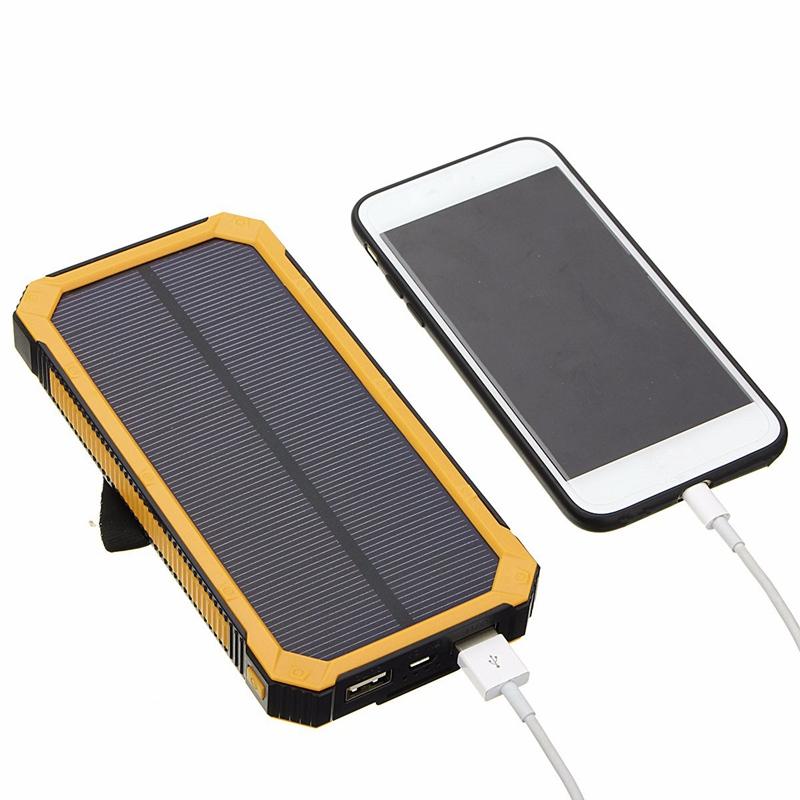 Повер банк солнечные батареи алиэкспресс