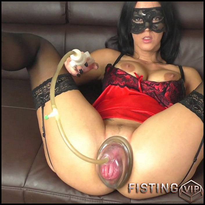 Bondage cum pig wife tube