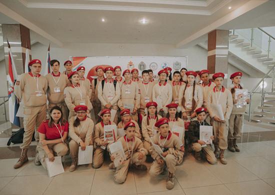 В155-йотдельной бригаде морской пехоты ТОФвоВладивостоке прошел региональный слет «Юнармии»