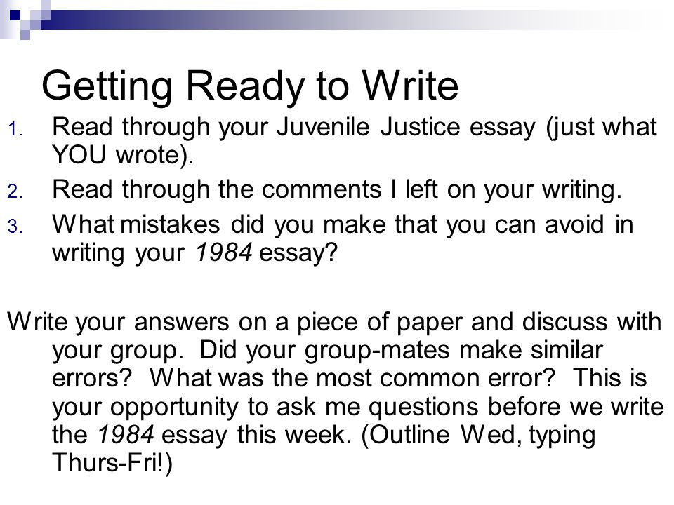 Write my 1984 essay topics
