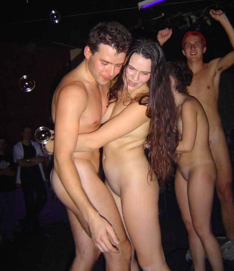 Wife naked in public bars