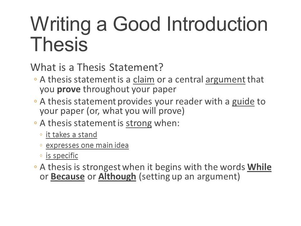 Writing a thesis statement quiz - kittimurraycom