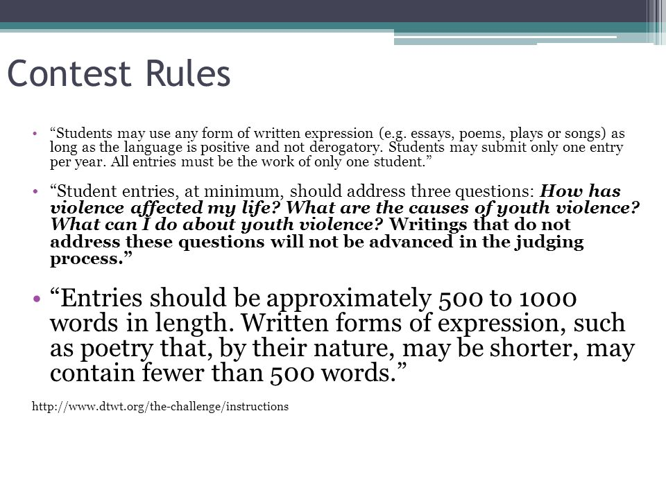 Rules Of Writing An essay - iWriteEssays