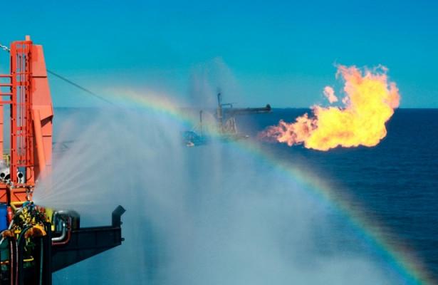 «Газпром» увеличил добычу газа в2017 году на12,4%— до471млрд кубометров