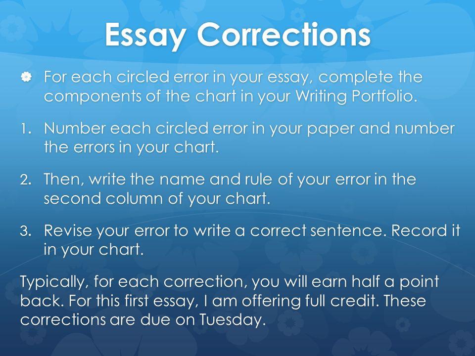 Essay Editing Writing Services - Essay Edit Help