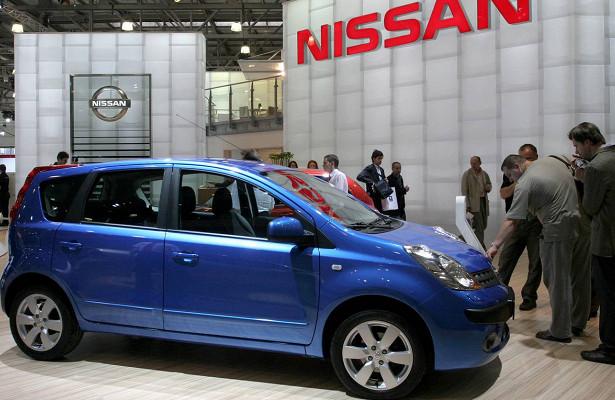 Продажи Nissan упали вРоссии вфеврале
