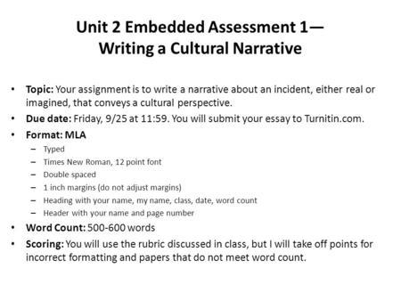 Write my example of narrative essay writing