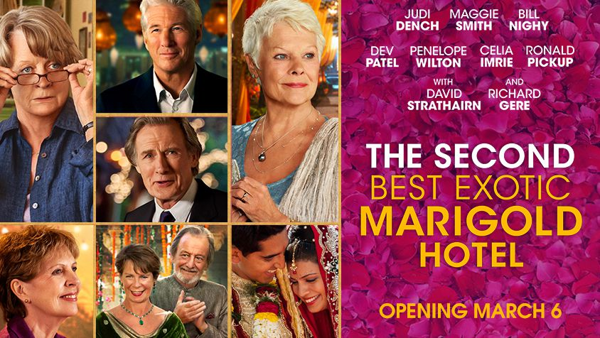 Review: The Second Best Exotic Marigold Hotel - The