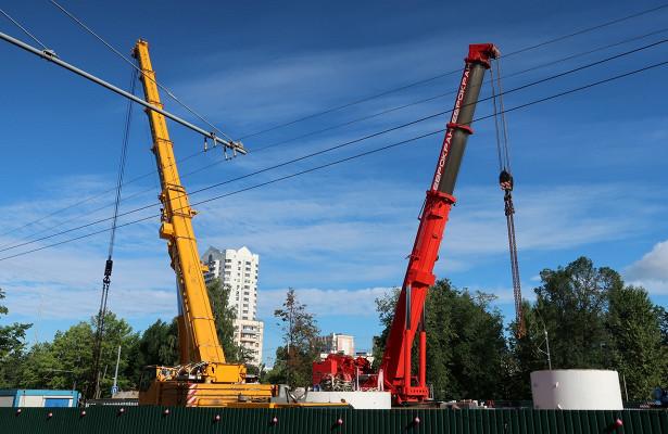 ВЗюзине начали монтаж тоннелепроходческого комплекса