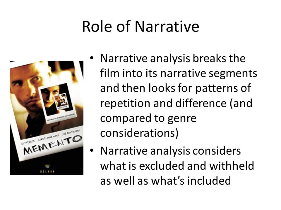 Memento Film Analysis - Paper Masters