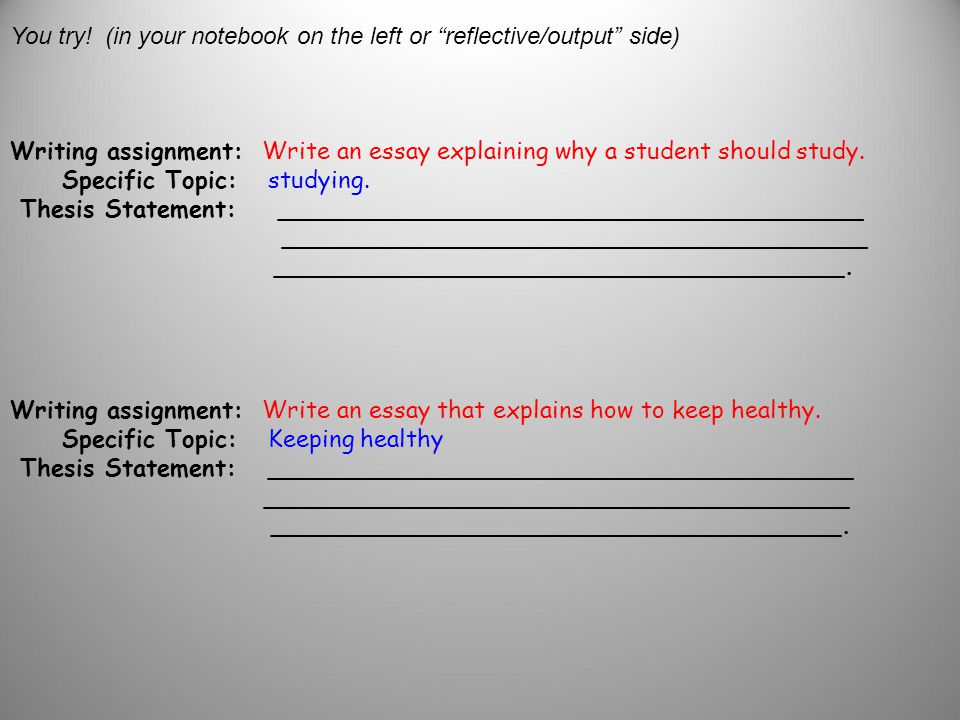 Write my how to stay fit and healthy essay