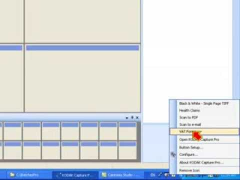 Manual kodak capture pro