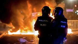 Акция протеста вБарселоне переросла вбеспорядки