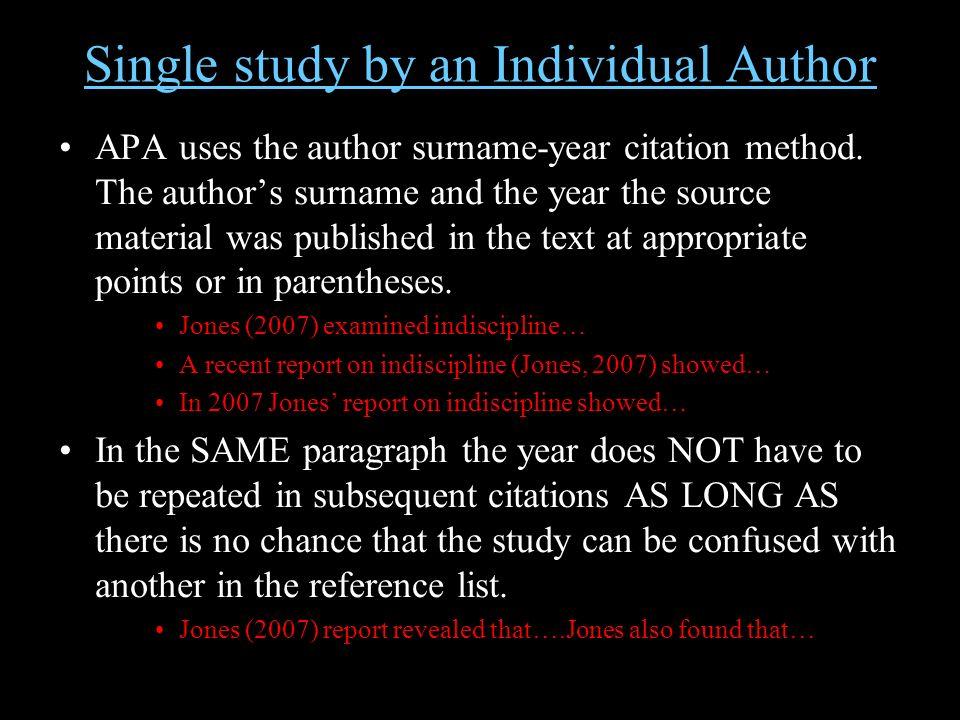 Write an Annotated Bibliography - APA Style - UMUC