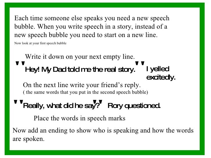 How to start writing a speech