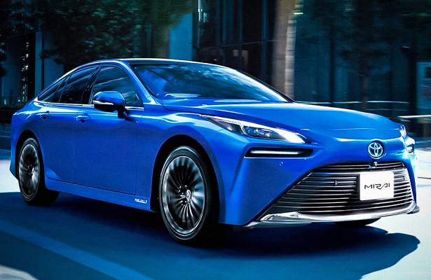 Начались продажи водородомобиля Toyota Mirai второго поколения