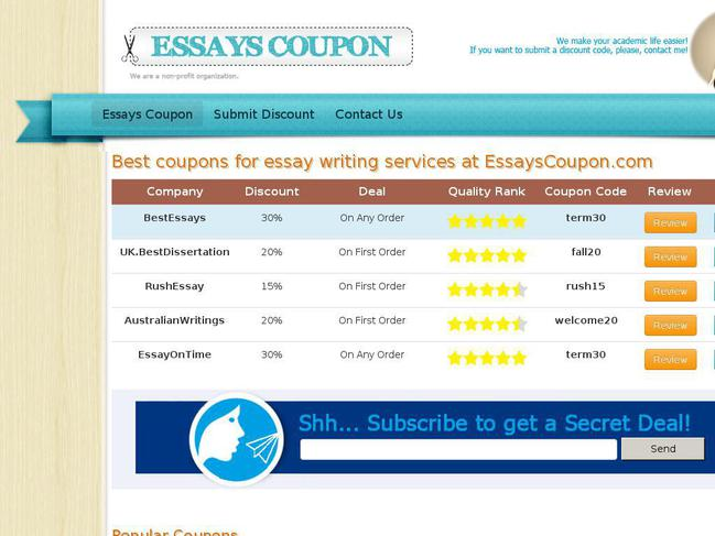 TopEssayWritingorg discounts, prices and benefits