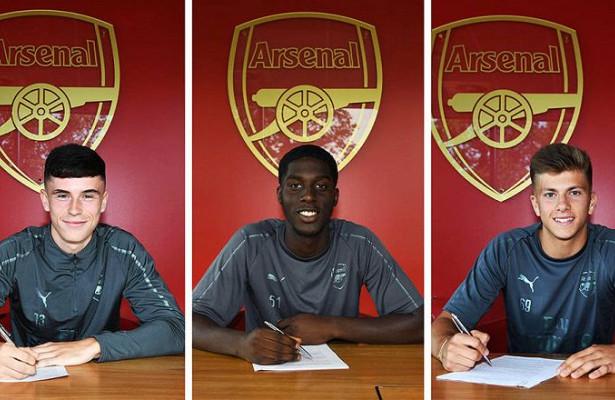 «Арсенал» объявил оподписании троих игроков
