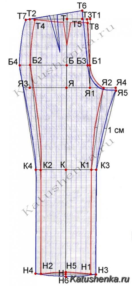 вязанные туники спицами 2012