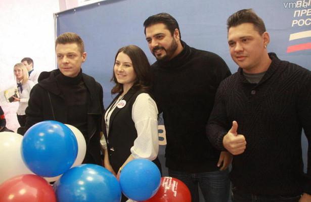 Группа Корни посетила избирательные участки вОтрадном