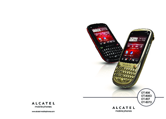 Service manual alcatel one touch