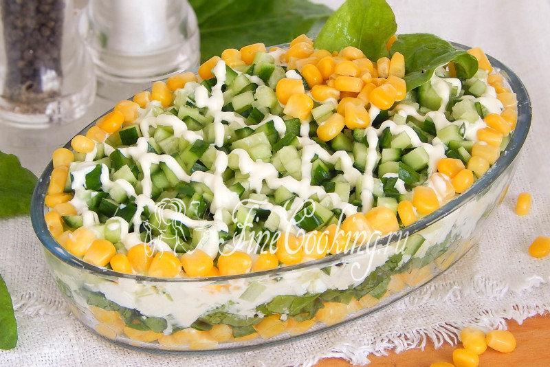 Рецепты простые быстрые салаты